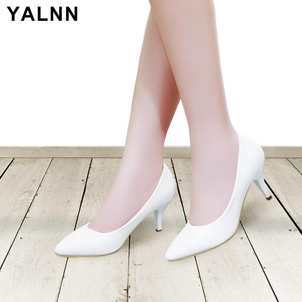 YALNN szivattyúk női klasszikusok magas sarkú cipő hegyes cipő - Női cipő
