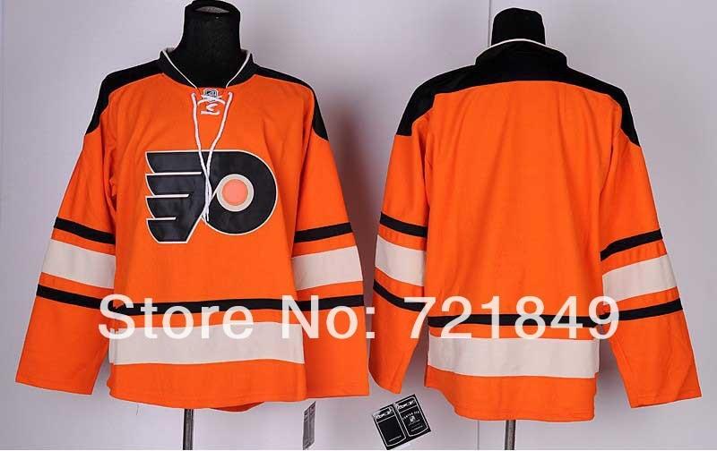 uk availability 6d967 1a577 Top/ cheap plain Philadelphia Flyers blank hockey jerseys ...