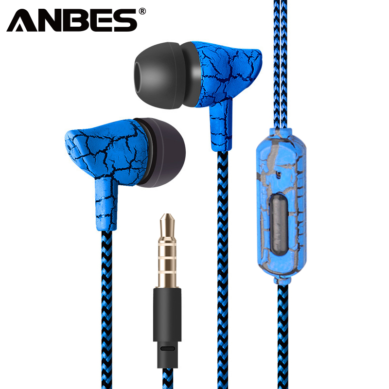 e2a16466e63 Wired Headset Sport Earphone 3.5mm Super Bass Crack Earphone Earbud with  Microphone Hands Free Headphone for Samsung MP3 MP4 ~ Perfect Sale July 2019