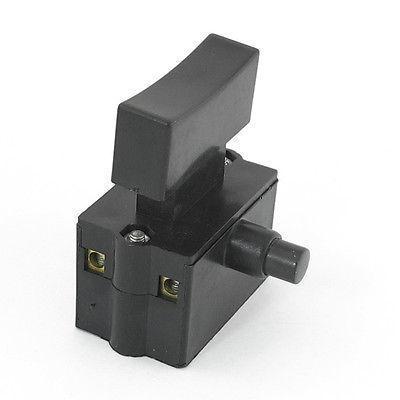 2NC DPST AC 220V/10A 110V/20A Lock on Electric Power Trigger Switch коммутатор ac 220v 10 110 20 1 1nc dpst