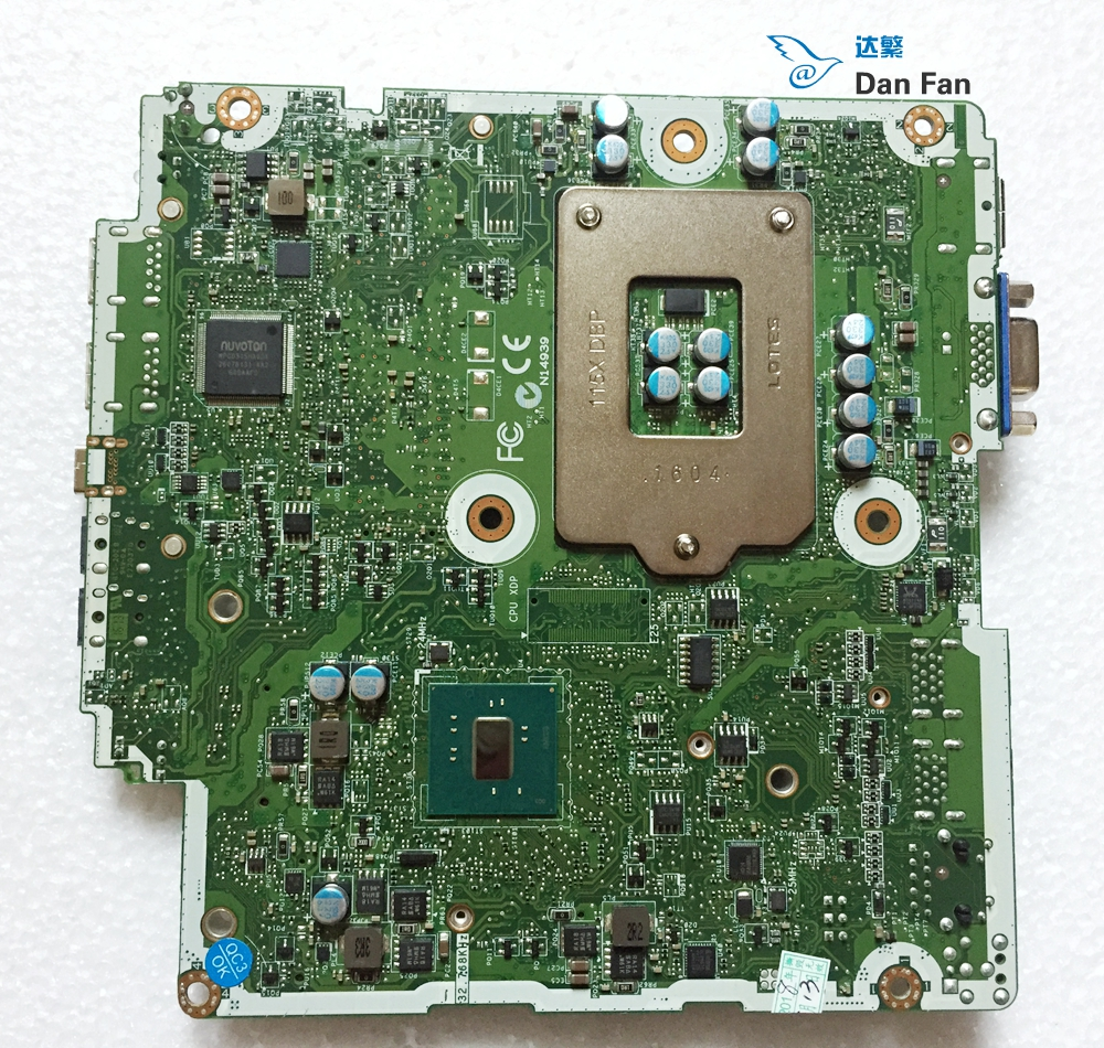 HP ProDesk 600 G2 Mini Motherboard 827979-001 825991-001
