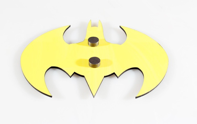 Cybxt0036 Vintage Creative Fashion Fridge Magnet Logo Of Batman
