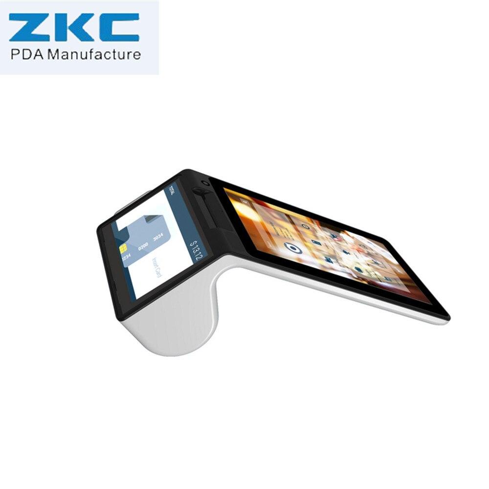 Der GüNstigste Preis Heißer Verkauf Touch Screen Pda Barcode Scanner, Android Handheld Pda Mit Build-in-drucker Ein GefüHl Der Leichtigkeit Und Energie Erzeugen