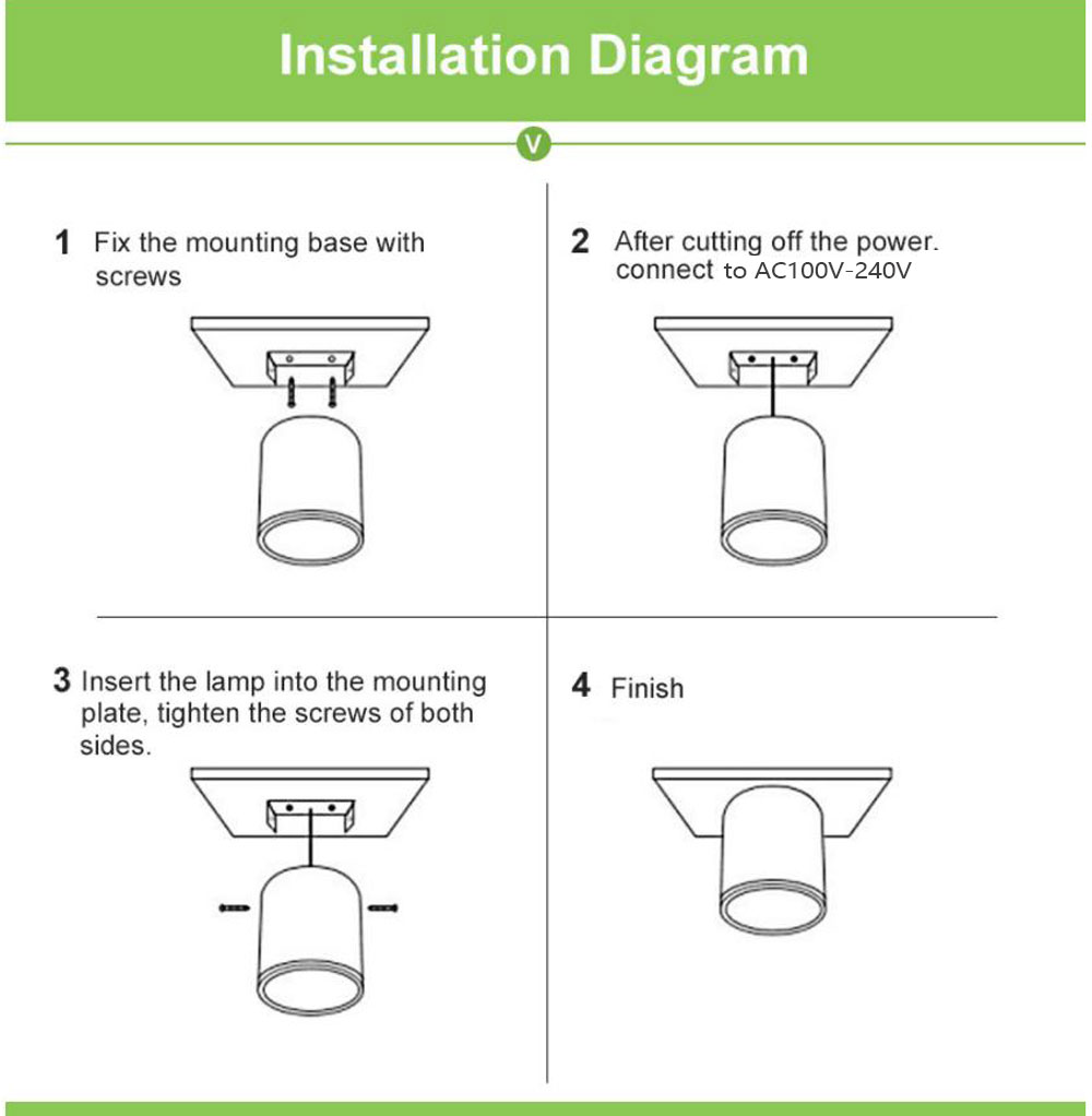 LED Ceiling light Surface mounted Dimmable Ceiling lamps Cylinder 7W 12W 15W for Bedroom,Living room,study,office,shop,Studio