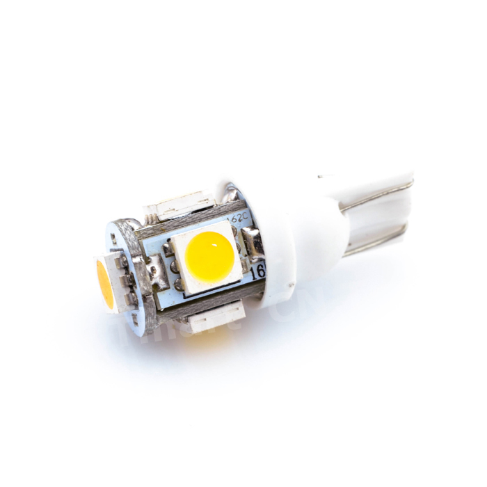 Promotion Car LEDs light Clearance lights T10 5 LED LIGHT 5LED Car Auto LEDS T10 194 W5W 5050 Wedge Light Bulb Lamp 5SMD White