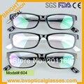 604 marca nova armação completa moda uniex miopia óculos óculos de grau óculos