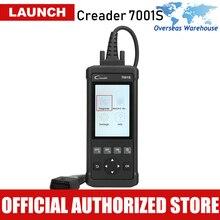 Launch Creader 7001S OBD2 сканер автомобильный диагностический инструмент ABS SRS сканер Автоматическая диагностика сканирование подушки безопасности Автосканер EPB CR7001S