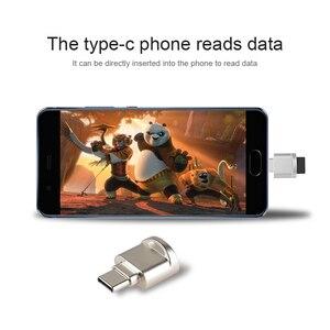 Image 4 - 2020 NUOVO USB 3.1 Tipo C Carta di Lettore di USB C TF Micro SD Adattatore OTG Tipo C lettore di Schede di Memoria per Samsung/Macbook per Huawei LeTV