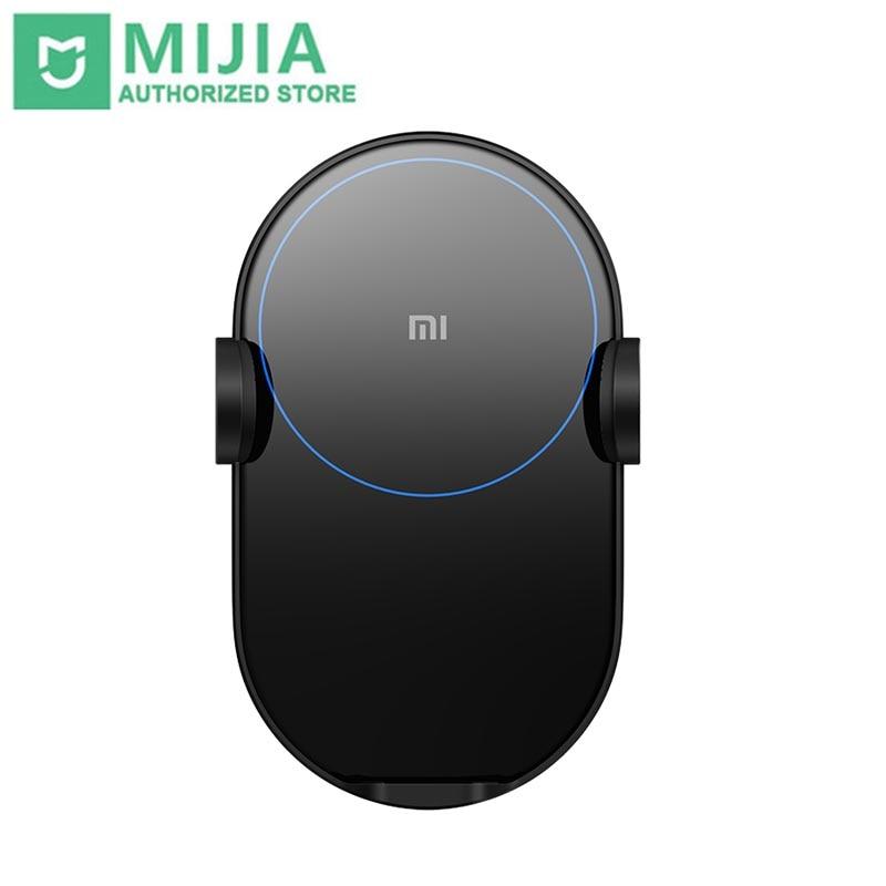 Xiao mi mi capteur infrarouge chargeur sans fil 20 W Max électrique pince automatique 2.5D anneau de verre Lit de charge expédier dans les 24 heures