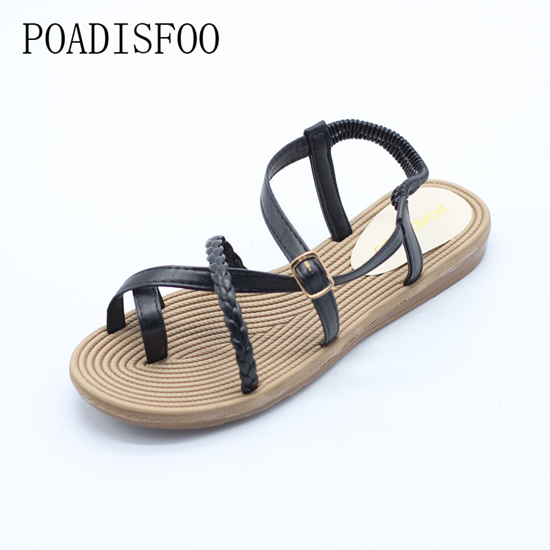 Women 's New Sandals In Summer Fashion With A Thin Sandals Rome Sandals Toe Sandals 35-40 Yards .HYKL-201 strech jeans women beautiful jeans female high waist slim skinny denim pants femme pencil jeans pants trousers tp6616