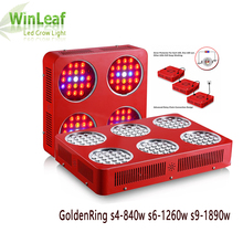 Led Full Spectrum Plant Grow Light 840W/1260W/1890W/3360W Double Chips Plant Growth Lamp Indoor Greenhouse Tent Led Grow Light huanjunshi 600w led grow light full spectrum led plant growth lamp 2940 3360lm for greenhouse plant flowering grow indoor light