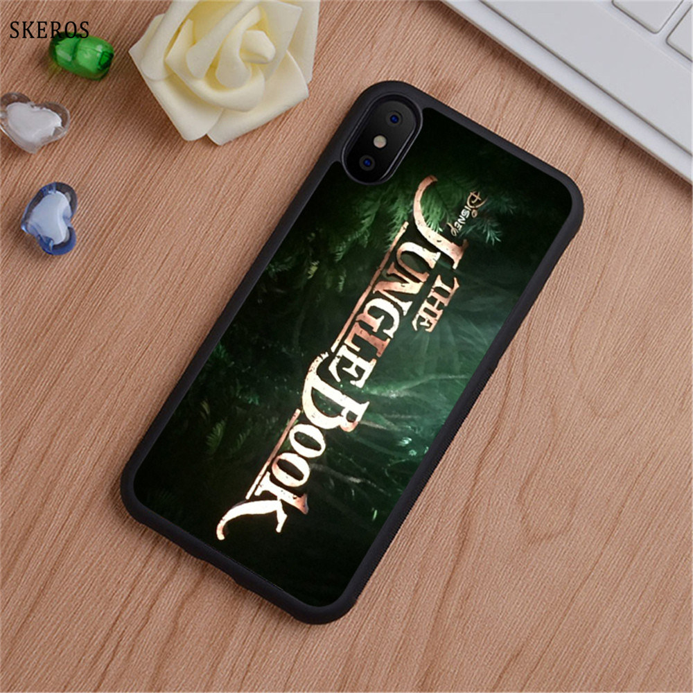 SKEROS The Jungle Book 1 phone case for iphone X 4 4s 5 5s 6 6s 7 8 6 plus 6s plus 7 & 8 plus #B733