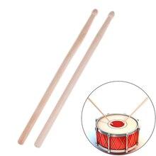Drum-Sticks Musical-Instrument Professional Maple Hard Wood 5A 2pcs 32cm Anti-Skid Military