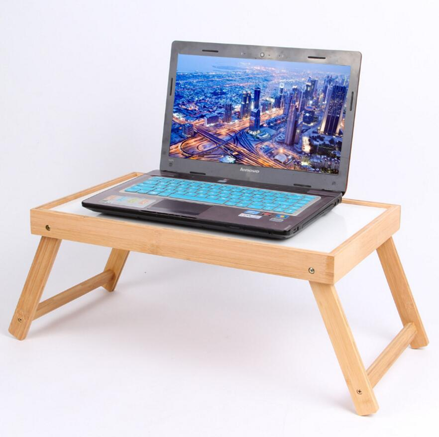 ФОТО New arrival Portable Foldable Adjustable Laptop Desk Computer Table Stand Tray For Sofa Bed Black SE21