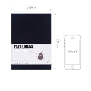 Image 5 - A5 Đơn Giản Bìa Mềm Chấm Notebook Bao Lưới Dot Tạp Chí Du Lịch Nhà Quy Hoạch Nhật Ký