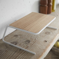 Dish Rack Drying Solid Decorating Desktop Eco friendly Gift Storage Holder Home Convenient Plate Wooden Kitchen Supplies