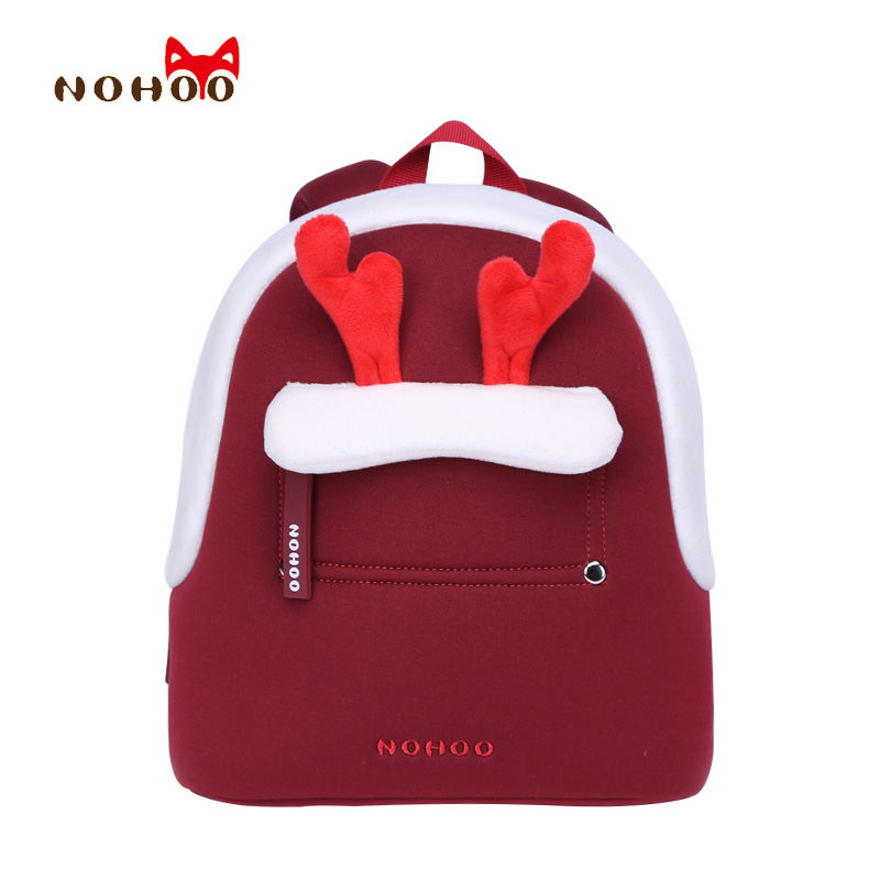 NOHOO Kids Childrens School Bags Backpacks 3D Cartoon Parent-child Bags Best Gift Toddler Baby School Bags for 2-4 Years Old