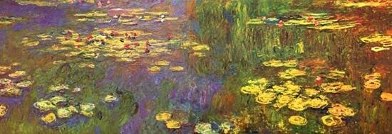Claude monet art prints giclee on canvas painting decor wall lotus claude monet art prints giclee on canvas painting decor wall lotus flower and aquatic no frame mightylinksfo