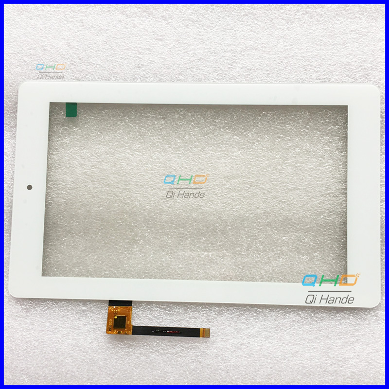 White New Capacitive touch screen panel For 7'' Inch FTC-FFU236-FPC V0.0 XST 1406 Tablet Digitizer Glass Sensor Free Shipping white new 9 7 inch tablet olm 097d0761 fpc ver 2 touch screen touch panel digitizer glass sensor replacement free shipping