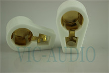 Gold plated Ceramic  ANODE vacuum tube cap/grip cap for 811/845/805/813/FD422/FU33 Tube 5PCS Free Shipping