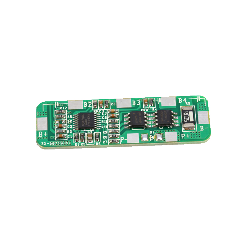 4A-5A PCB BMS Protection Board for 4 Packs 18650 Li-ion lithium Battery Cell protection circuit 4s 30a bms pcm pcb battery protection board for 14 8v li ion lithium battery cell pack sh04030029 lb4s30a