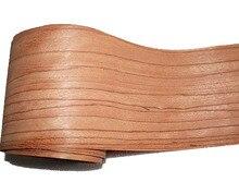 L: 2.5 Meters/Chiếc Rộng: 165 mét Độ Dày: 0.2 mét màu đỏ Tự Nhiên gỗ hồng veneer Rắn gỗ Speaker skinning veneer