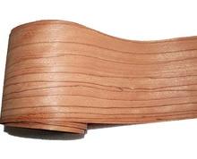 Placage pour haut parleur en bois massif, de couleur rose, rouge naturel, L:2.5 mètres, largeur 165mm, épaisseur 0.2mm