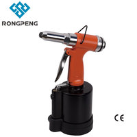 4.0 6.2mm Pneumatic Rivets Gun Air Gun Riveting Tools Rongpeng Pneumatic Air Tools Rivet Nut Gun Riveters Setting Kits