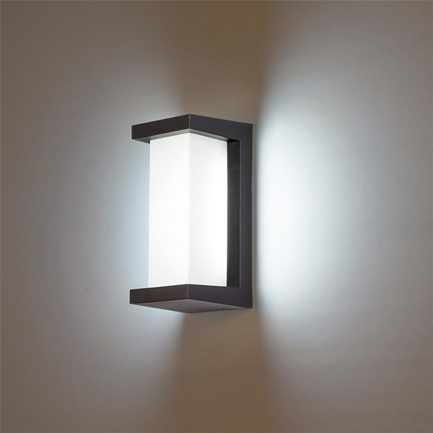 Moderno conduziu a luz da parede de
