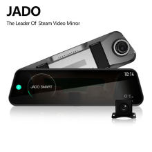 JADO D820s Car Dvr Stream RearView Mirror dash Camera avtoregistrator 10 IPS Touch Screen Full HD 1080P Car Recorder dash cam(China)