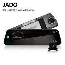 JADO D820s Flusso Specchietto retrovisore Dell'automobile Dvr del precipitare Della Macchina Fotografica avtoregistrator 10 IPS Touch Screen Full HD 1080 P Auto Registratore dash cam