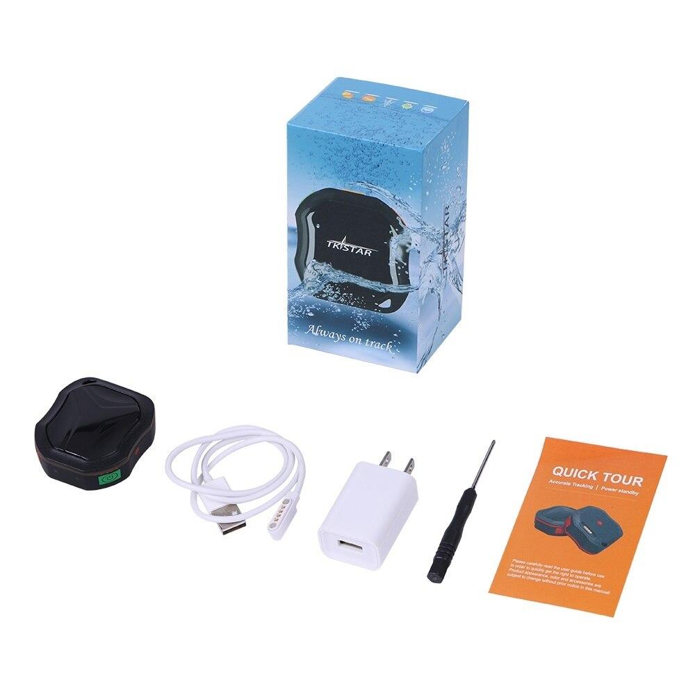 Умный мини собачий gps трекер ошейник gps LBS отслеживание IP67 Водонепроницаемый SMS позиционирование гео забор трековое устройство домашнее жив... - 6