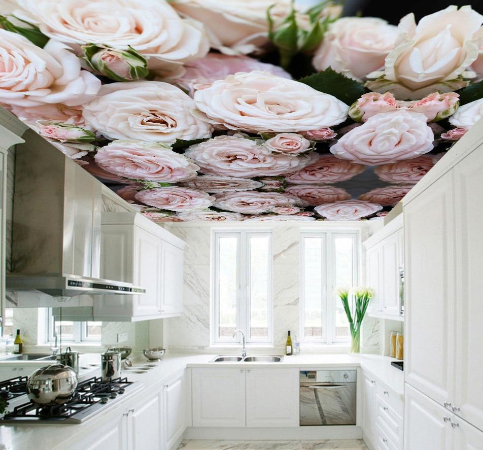 Custom 3d Ceiling Wallpaper For Hall Kitchen Room Hotel 3D
