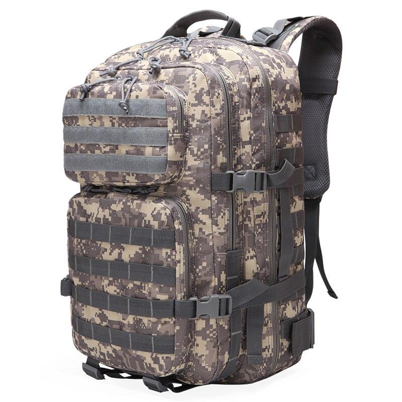 Sacs à dos tactiques de l'armée de grande capacité homme sacs d'assaut militaires en plein air 3 P Molle Pack pour Trekking Camping sac de chasse