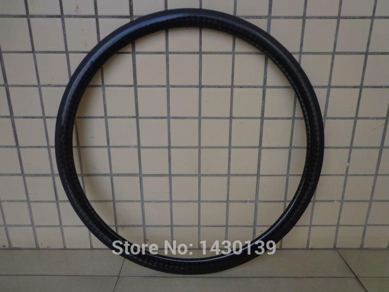 1Pcs New 700C 38mm Road bike 12K full carbon fibre bicycle wheels clincher rim with basalt brake surface 23 25mm width Free ship цена