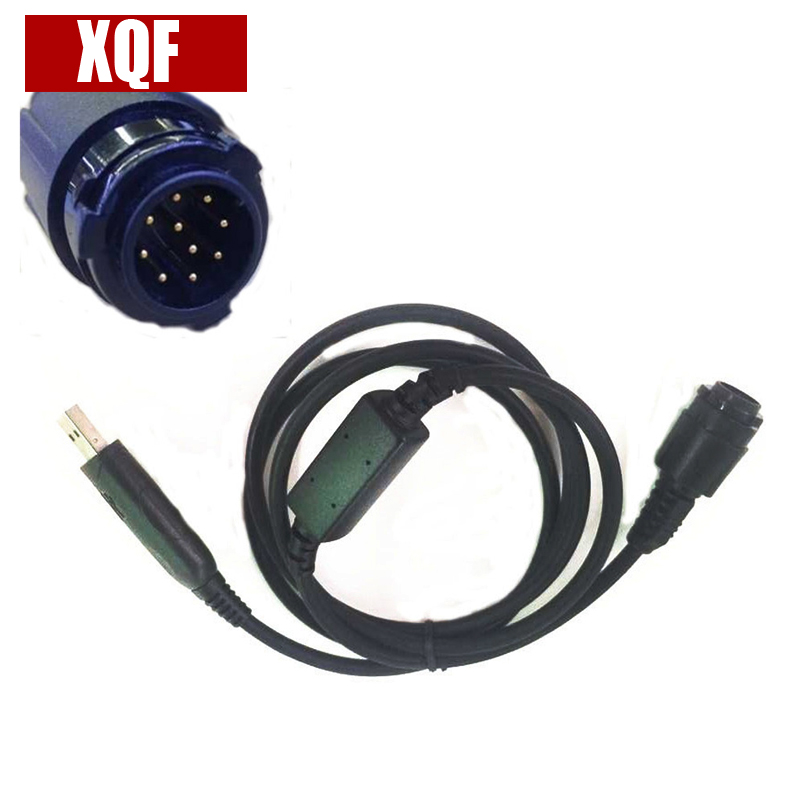 XQF USB Programming Cable For Motorola XIR M8268,M8200,M8260,M8228,M8220 Etc Car Vehicle Mobile Radio