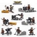 World War 2 German Blitzkrieg Assault Military War Scene Model Building Blocks Brick Compatible with Lego 71002