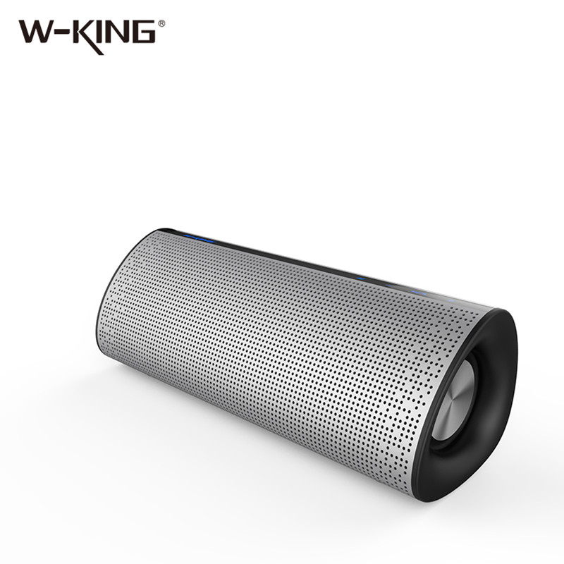 2018 W-KING New High Quality 12W Premium Portable Bluetooth Wireless Speaker T5 with Super Bass for Playing Music wireless bluetooth speaker led audio portable mini subwoofer