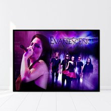 02271232f6c Amy Lee Evanescence Singer Musician Hard Rock Music Band Poster Home Decor  Pictures(China)