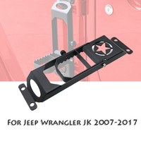 For Jeep Foot Pedal Door Hinges Foot Pedal Peg For Jeep Wrangler JK 2007 2017 Exterior Parts