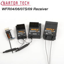 WFLY 2.4G Receiver WFR04S WFR06S WFR07S WFR09S for 4CH 6CH 7CH 9CH Remote Control for RC Model Wholesale