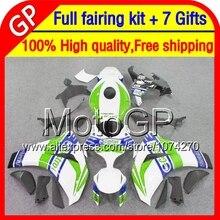 Castrol blue 7gifts For HONDA CBR 1000RR CBR1000 RR 08 09 10 11 40GP0 CBR1000RR 1000 RR 2008 2009 2010 2011 08-11 Green Fairing