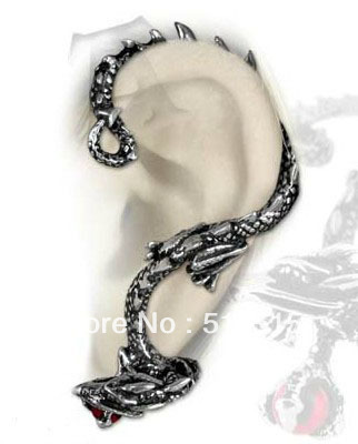 Oriental Dragon Ear Cuff Earring Wrap