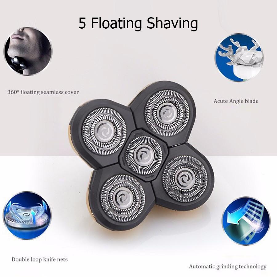 Floating Shaving