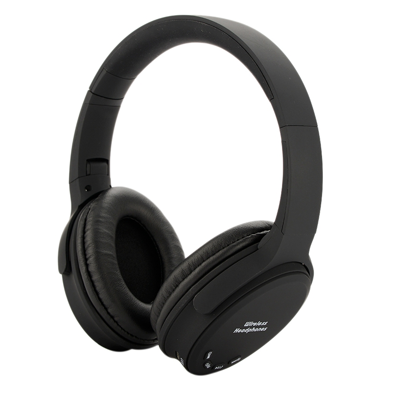 Wireless Bluetooth Headset Bt 5.0 Active Noise Reduction 15 Hours Playback Time Folding Design Bass Game Headset Plastic
