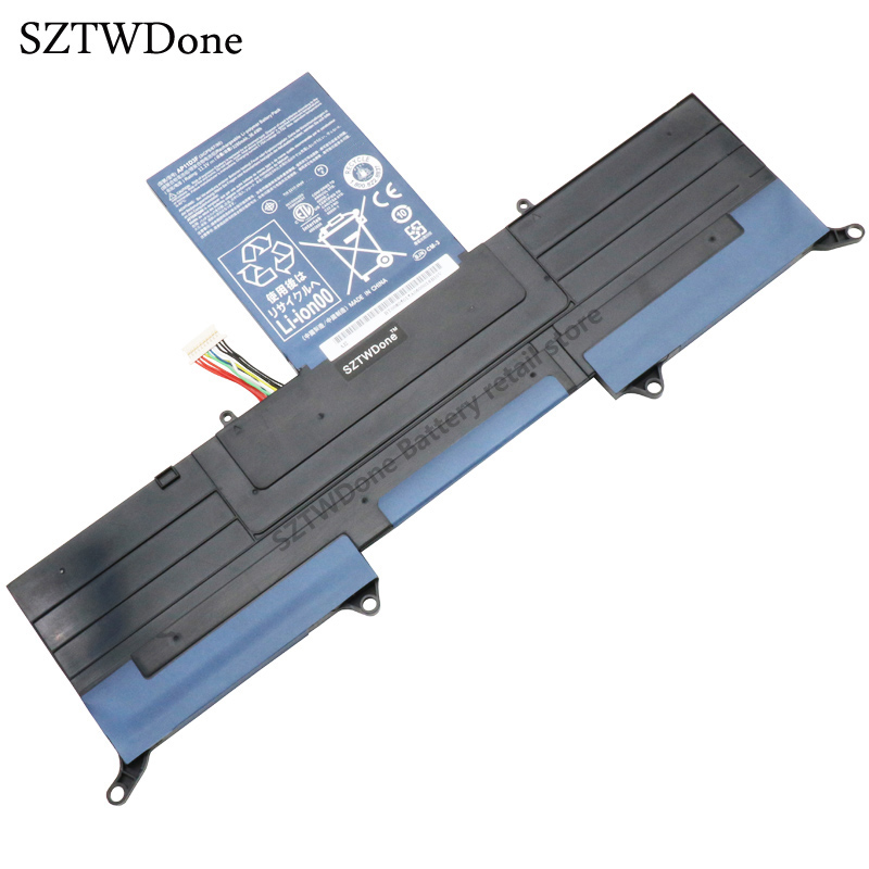SZTWDONE New Laptop battery for ACER Aspire S3 ASS3 MS2346 S3-951 S3-391 AP11D3F AP11D4F 3ICP5/65/88 3ICP5/67/90  jigu high quality 6 cell laptop battery as10b51 as10b3e as10b5e for acer aspire 3820tg 4820t 4820tg 5820t 5820tg