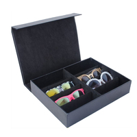 Mordoa 8 Cell Sunglass Display Storage Organizer Container Storage Box for Travel or Birthday Gifts Jewelry Tray Case Box