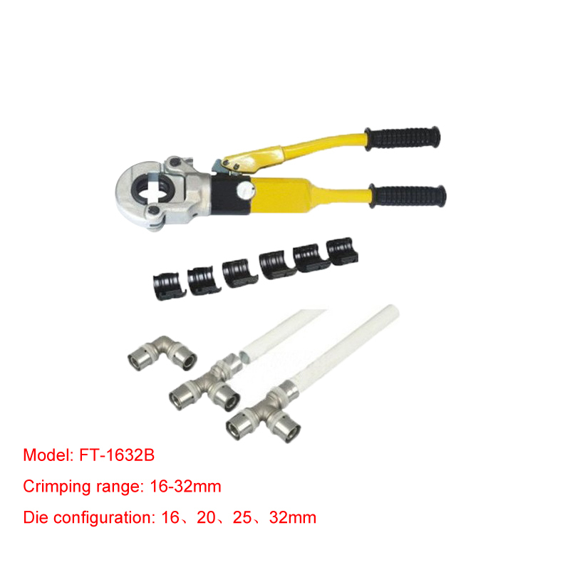 1pc Hydraulic Fitting Tool FT-1632B for PEX pipe fittings PB pipe Copper AL connecting range 16-32mm free shipping by dhl 3pcs hydraulic fitting tool ft 1632b for pex pipe fittings pb pipe copper al connecting range 16 32mm