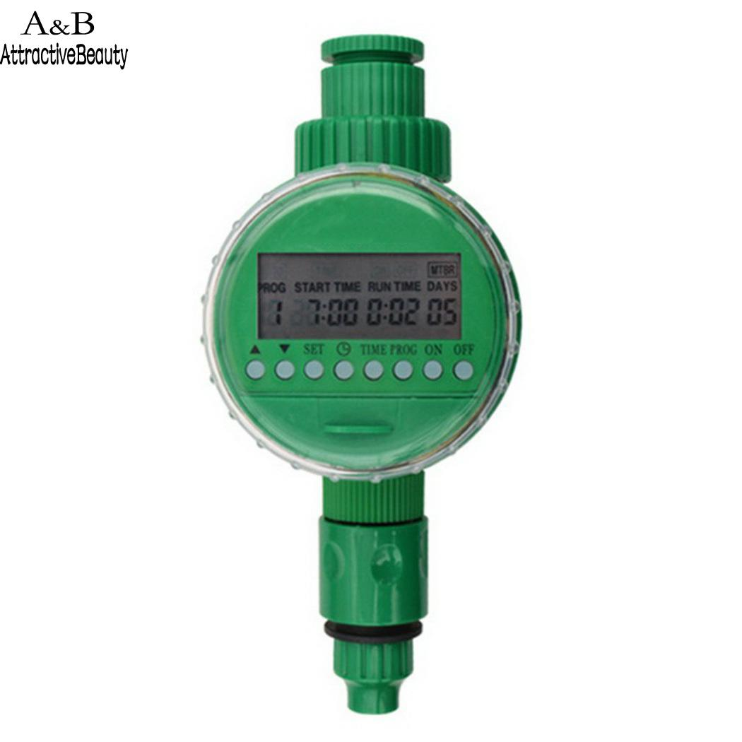 Garden Digital LCD Electronic Irrigation Timer Green 0-40 Degrees Celsius Automatic 0-400 KPA Controller(China)