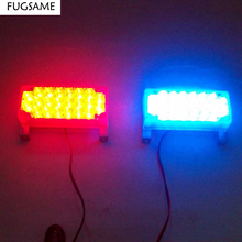 2x22 LED Car Strobe Light Flash Warning light source auto accessories car styling and parking for ford focus 2 mazda 3